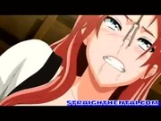 pink haired hentai chick gang banged in r ...